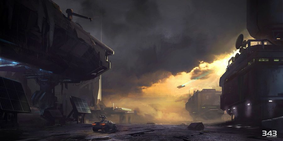 HALO Concept Art from Josh Kao