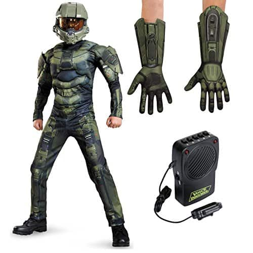 Master Chief Classic Muscle Costume for children  sc 1 st  High Speed Halo : halloween costumes master chief  - Germanpascual.Com