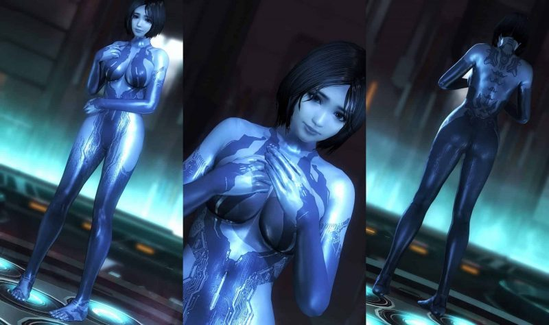Top 5 Most Sexy Halo Cortana Picture